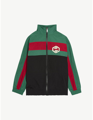 Gucci Web striped-nylon shell jacket 4-12 years