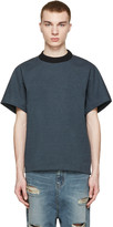 Kolor Green Knit Collar T-Shirt