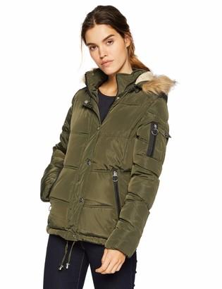 Madden-Girl Women's Nylon Puffer Jacket