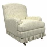 Annie Selke Home Ellis Armchair Upholstery: Nicholson Gray