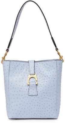 Dooney & Bourke Brynn Ostrich Leather Shoulder Bag