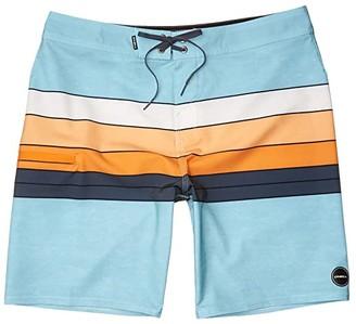O'Neill Hyperfreak Heist Line Boardshorts (Pale Blue) Men's Swimwear