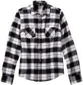 Jessica Women's Flannel Plaid Shirt With Shimmering Lurex Threads