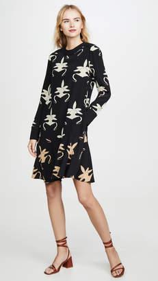 Tibi Yoked Drop Waist Dress