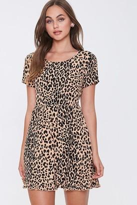 Forever 21 Leopard Print Mini Dress