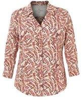Royal Robbins Women's Expedition Chill 3/4 Sleeve Fern Print Shirt