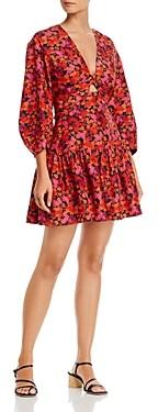 Derek Lam 10 Crosby Talia Floral Print Dress