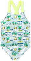 Stella McCartney Sunnee swimsuit - kids - Polyamide/Polyester/Spandex/Elastane - 2 yrs