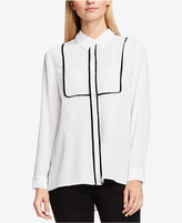 Vince Camuto Piped Contrast Blouse