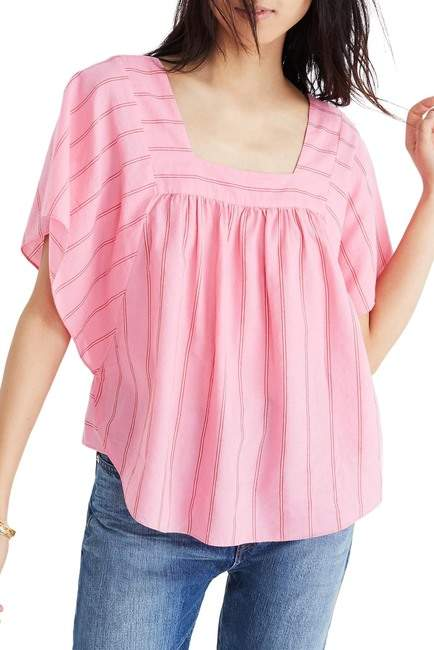 Madewell Stripe Butterfly Top