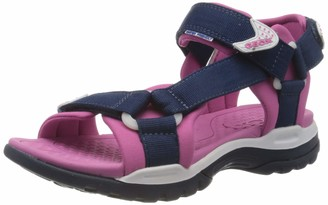 Geox J Borealis A Girls' Wedge Heels Sandals Open Toe Sandals