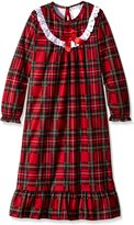 Komar Kids Big Girls' Holiday Plaid Gown