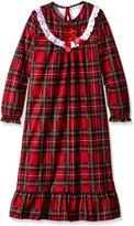 Komar Kids Big Girls' Holiday Plaid Gown