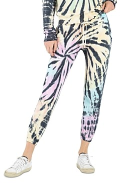 n:philanthropy Night Tie Dyed Cropped Jogger Pants