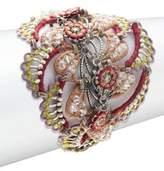 Miriam Haskell Toggle-Closure Bracelet