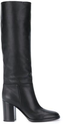 Gianvito Rossi Block-Heel Boots