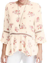 Denim & Supply Ralph Lauren Floral Bell-Sleeve Top