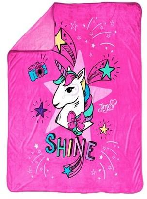 "Nickelodeon JoJo Siwa 'Sparkle Shine' 62"" x 90"" Plush Blanket"