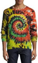 Valentino Tie-Dye Sweatshirt, Multicolor