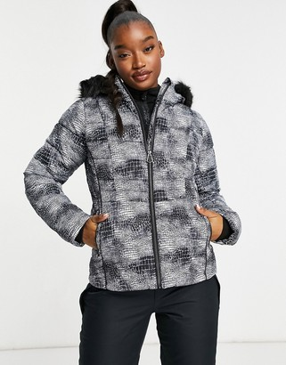 Dare 2b Dare2b Glamorize II ski jacket in mono grey