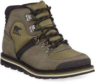 Sorel Men's Madson Waterproof Suede Hiker Boots