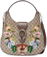 Gucci Dionysus embroidered medium GG Supreme hobo