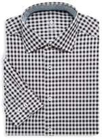 Bugatchi Gingham Cotton Dress Shirt