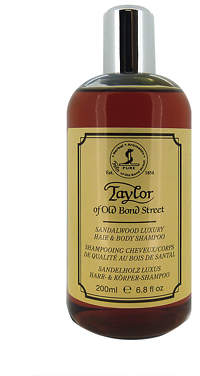 Taylor of Old Bond Street Sandalwood Hair & Body Shampoo 200ml