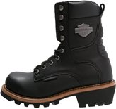 Harley Davidson Tyson Laceup Boots Black