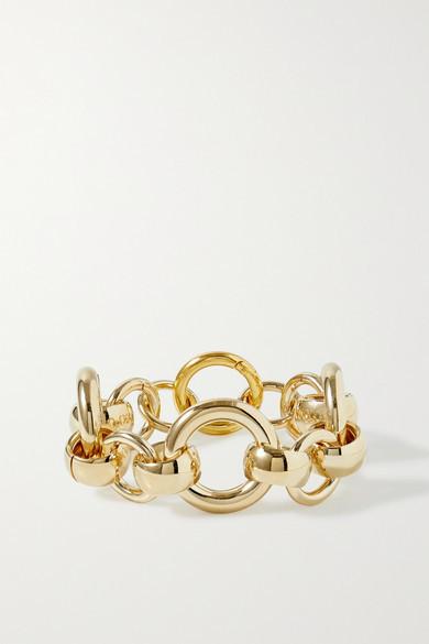 Laura Lombardi Amara Gold-plated Bracelet - one size