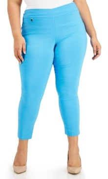 Alfani Plus Size Pull-On Pants, Created for Macy's