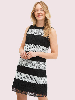 Kate Spade Floral Dot Lace Shift Dress