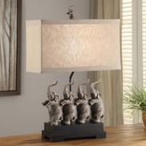 Crestview Collection Conga Elephant Table Lamp