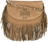 Tory Burch Harper fringed crossbody bag - women - Leather - One Size