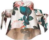 Sachin + Babi Benita floral-print off-the-shoulder top