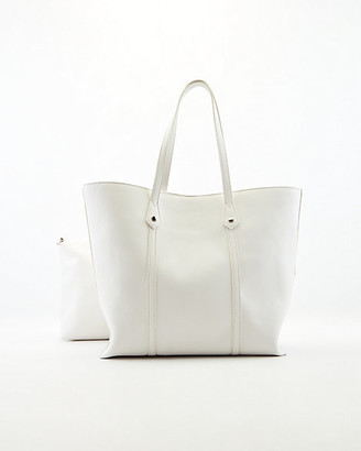 Le Château Faux Leather Tote Bag