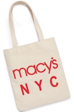 Dani Accessories Macy's World Largest Store Canvas Tote, Created for Macy's