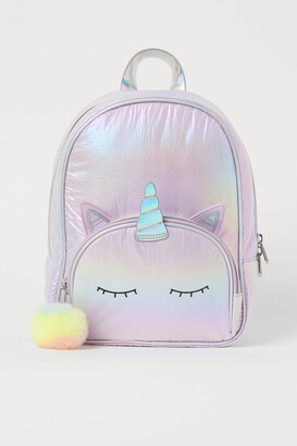 H&M Shimmery Metallic Backpack