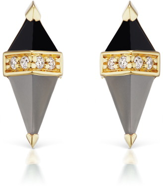Sorellina Pietra Semiprecious Stone Stud Earrings