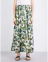 Free People Hot Tropics woven maxi skirt