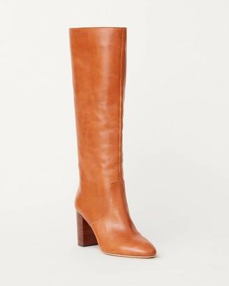 Loeffler Randall Goldy Tall Boot Cognac