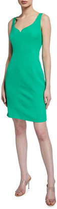 Milly Elizabeth Sleeveless Cady Dress