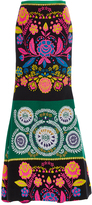 Cynthia Rowley French-Mex Trumpet Skirt