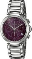 Edox Women's 10220 3M ROIN LaPassion Analog Display Swiss Quartz Silver Watch