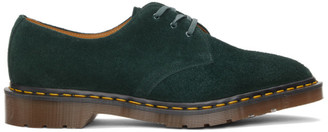 Dr. Martens Green C.F. Stead Suede Made In England 1461 Derbys