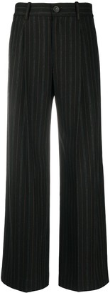 Vince Striped Palazzo Trousers