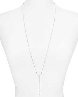 Argentovivo Bar Pendant Necklace, 32