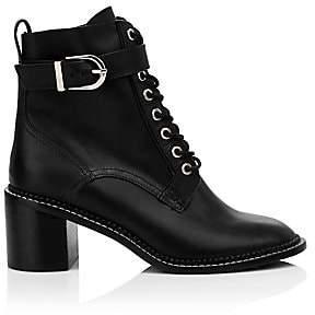 Joie Women's Raster Leather Block Heel Combat Boots