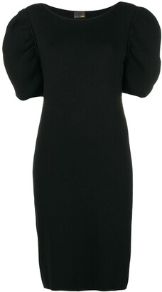 Fendi Pre Owned Short-Sleeve Knitted Dress