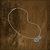 Denim & Supply Ralph Lauren Circle Pendant Necklace
